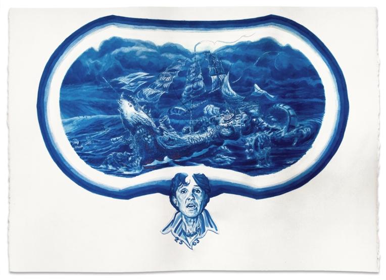 Relna Commemorative Serving Platter